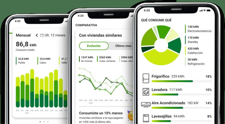 EnergyGO - Bájate la App de EnergyGO y controla tu consumo y gasto